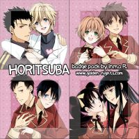 Horitsuba badge pack. by inma