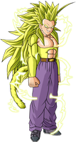 Son Goten SSJ 6 V2 by ansemporo002