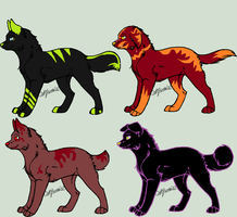Adoptables OPEN by peanut0014