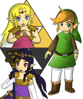 The Legend of Zelda : A Link Between Worlds by LinkofSkyWind