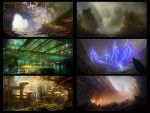 Environment sketches 5 by pav327