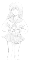 Kagome - Cross Hatching by Pinkpunk1880