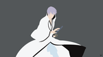 Gin Ichimaru (Bleach) Minimalist Wallpaper by greenmapple17