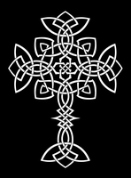 Knotty cross by Lunar-Alienism