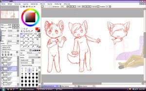 WIP comission by ShushiKitty
