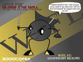 Entry for 5th WIFL: Blade the Ball by smithandcompanytoons