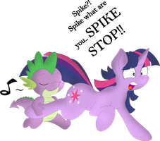 SPIKE STOP! (Shadow) by QCryzzy