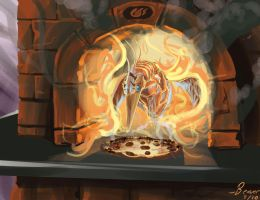 Phoenix-Roasted Pizza by chrisbeaver