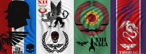 Battle Flags by Amaranth7777