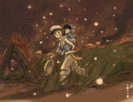 Hotaru no Haka (Grave of the Fireflies) by N-City