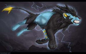Luxray by Tacimur