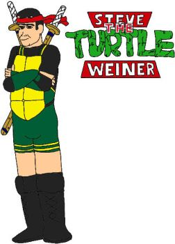 USWF: Steven The Turtle Weiner by jamesgannon