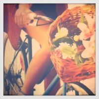 Girl on her bike by Beccis1995