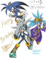 Happy Birthday Reina-wOlf!! by SupaSilver