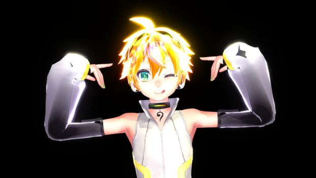 Cute Append Len by TErrarIanXD