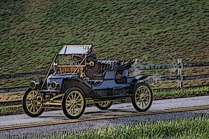 Horseless Carriage by vikingjon