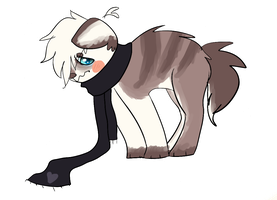 Pup - art trade with Cassie by monstercat-masochism