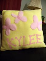 Kylee Name Pillow by CynicalSniper