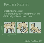 Premade Icons no.1 by ghostkite