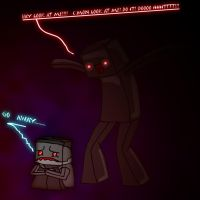 Minecraft: The Enderman by Tomanator490