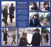 SHERLOCK Kids Cosplay by karadin