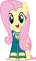 Fluttershy - New Lead Singer by CaliAzian