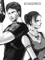 Chris and Sheva by Marcamie