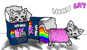 Nyan Cat by HinaRukia