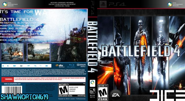 BF4 My Ps4 Cover Art by shawnorton619