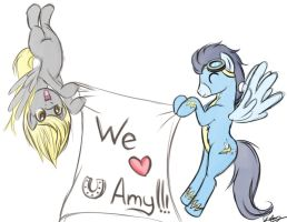 Derpy hasn't changed in our hearts by bunnimation