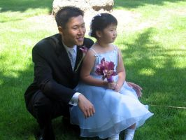 uncles wedding: uncle and sis by jinnybear