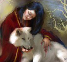 The Geisha And The Wolf by Dorothy666