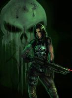 La Femme Punisher by vic55b