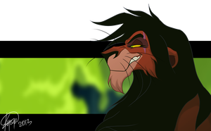 Scar by SilvertoneAnimals