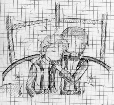 Cherik - On the Couch by quinmari