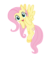 Surprised Fluttershy by FiMvisible