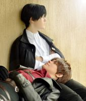 Ereri cosplay by Nanda-Kaulitz