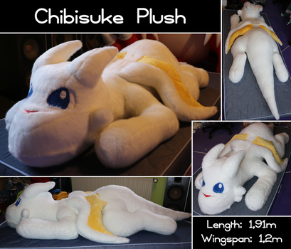 Chibisuke Plush - Version 3 by Starfighter-Suicune