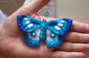 Blue Butterfly by VeoBea