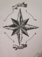 Cutting Edge Compass Rose by cfilly