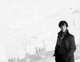 Sherlock BBC wallpaper by DerekClyde