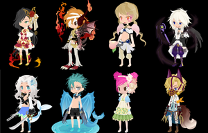 WTA/DTA/TTA DreamSelfy Adopts CLOSED by FlameHeadSavvy