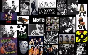 Misfits Collage by GerardsVampire