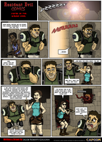 Resident Evil Comic: You're in the wrong Game by Jacob-R-Goulden