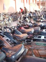 Marrakech motorcycles by xmaryxedgex