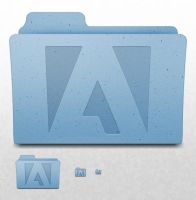 Mac OS X Folder - Adobe by ekliptikz