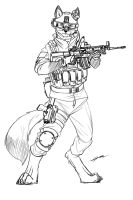 Fox Trooper by GasMaskFox