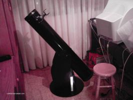 My monster telescope muahahaha by curtition