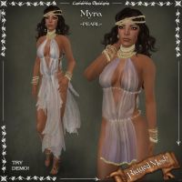 Myra PEARL Camisk by Elvina-Ewing