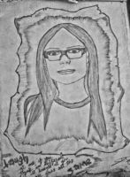 my avril hand drawn version by codexii